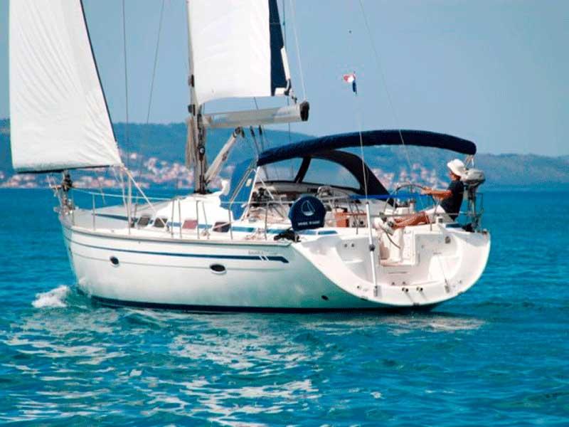 Alquiler de veleros con patron,bavaria 46